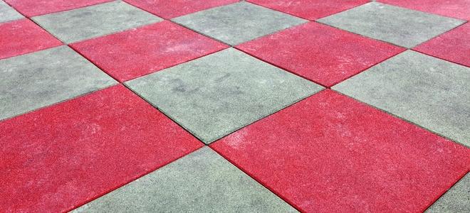 How To Cut Rubber Tile Flooring Doityourself Com