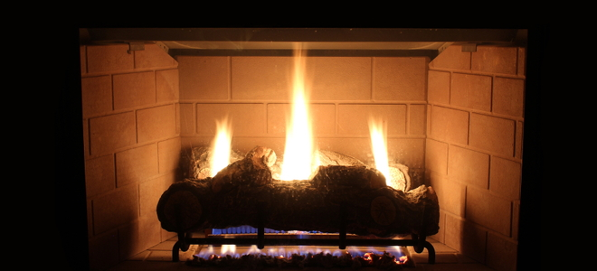 A propane fireplace is a great