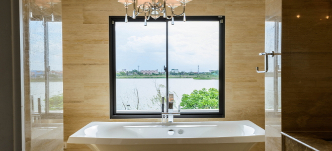 Building Codes For The Bathroom DoItYourselfcom - How much does it cost to replace a bathroom window