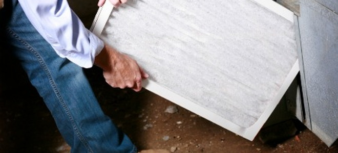 How To Change A Forced Air Furnace Filter Doityourself Com