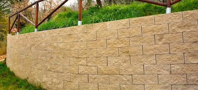 How To Reinforce Brick Retaining Walls Doityourself