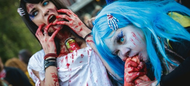 Lets do a walking dead zombie party doityourself the walking dead is one of the most talked about and celebrated shows on tv so join in on the fun with your own themed party make your own stuff to make solutioingenieria Image collections