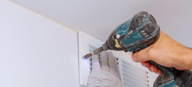 Add A Bathroom Exhaust Fan In The Wall