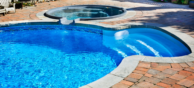 How to install a gas pool heater for Inground swimming pool skimmer installation