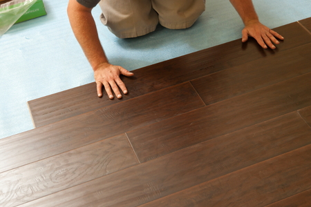 How To Stain Laminate Wood Flooring