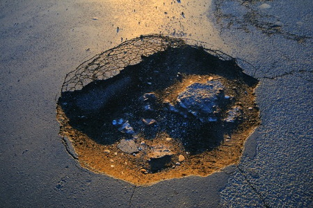 Pothole In Your Driveway Fix It Doityourself Com