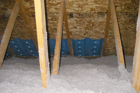 How To Blow Insulation Into Existing Walls Doityourself Com