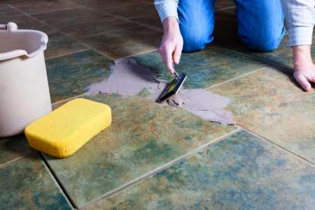 Restoring Tile Grout Doityourself Com