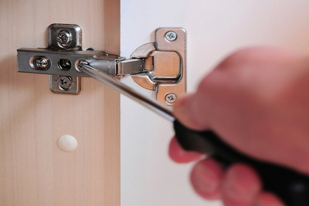 How To Paint Cabinet Door Hinges Doityourself Com
