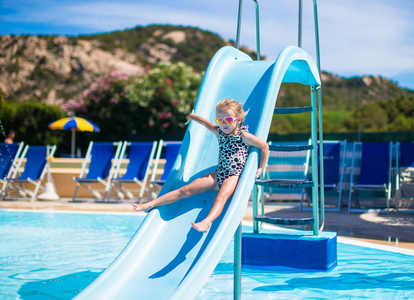Paint a pool slide in 5 steps - Swimming pools in liverpool with slides ...