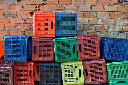 Transform Old Milk Crates Into Bookshelves Doityourself Com