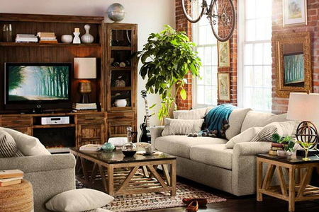 Decorating ideas how to choose the perfect pieces for for Do it yourself living room ideas