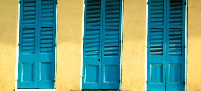 How To Paint A Louvered Door Doityourself Com