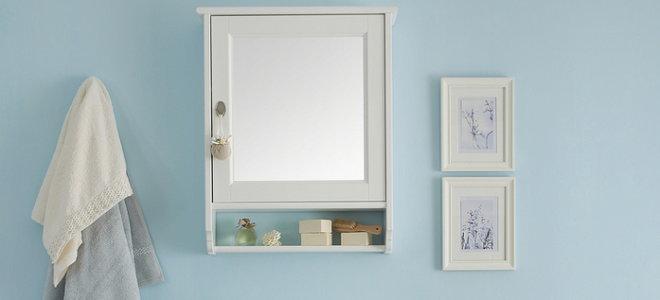 How To Replace A Medicine Cabinet Mirror Doityourself Com