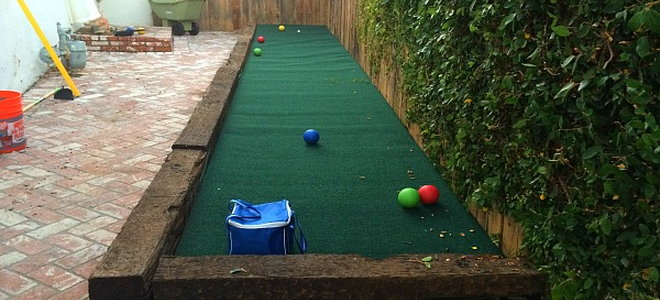 Building a Bocce Ball Court on a Budget | DoItYourself.com