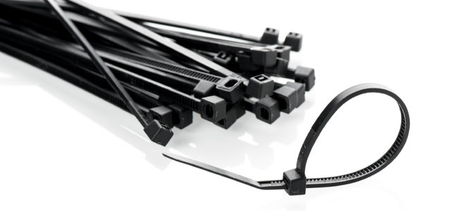 zippers for tying electrical wires