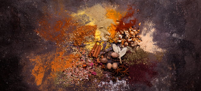 spices and their powders