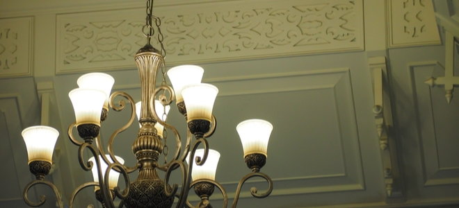 off-chandelier on the center chain