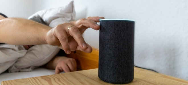 to move smart speakers from the bed