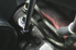 Power steering hose in an engine