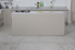 kitchen with beautiful, new linoleum flooring