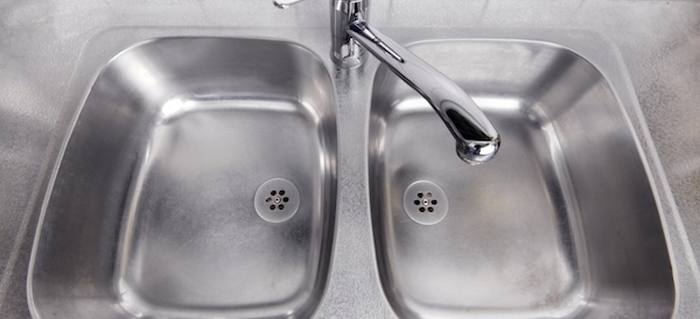 Guide To Removing Hard Water Stains On Stainless Steel Sinks |  DoItYourself.com