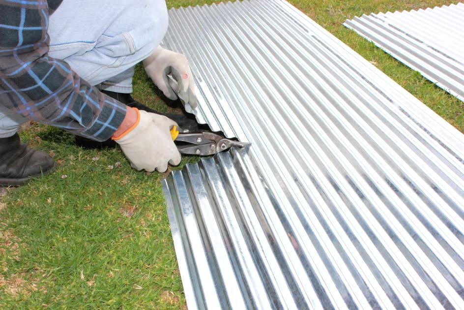 How To Install Corrugated Steel Siding Doityourself Com