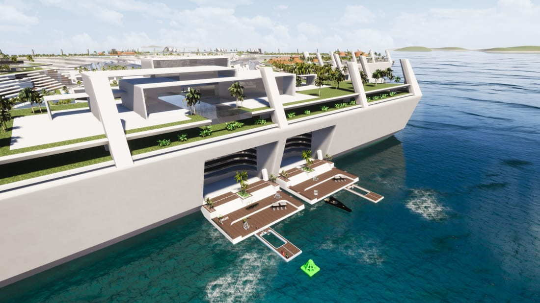 Blue Island Estate: The Floating Luxury Community Where Homes Cost Up to $1 Billion