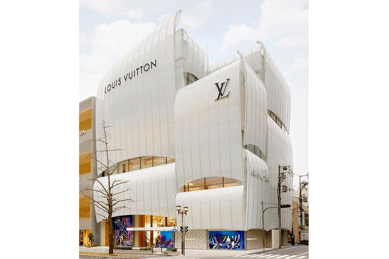 Louis Vuitton?s New Osaka Shop Inspired by Merchant Ships