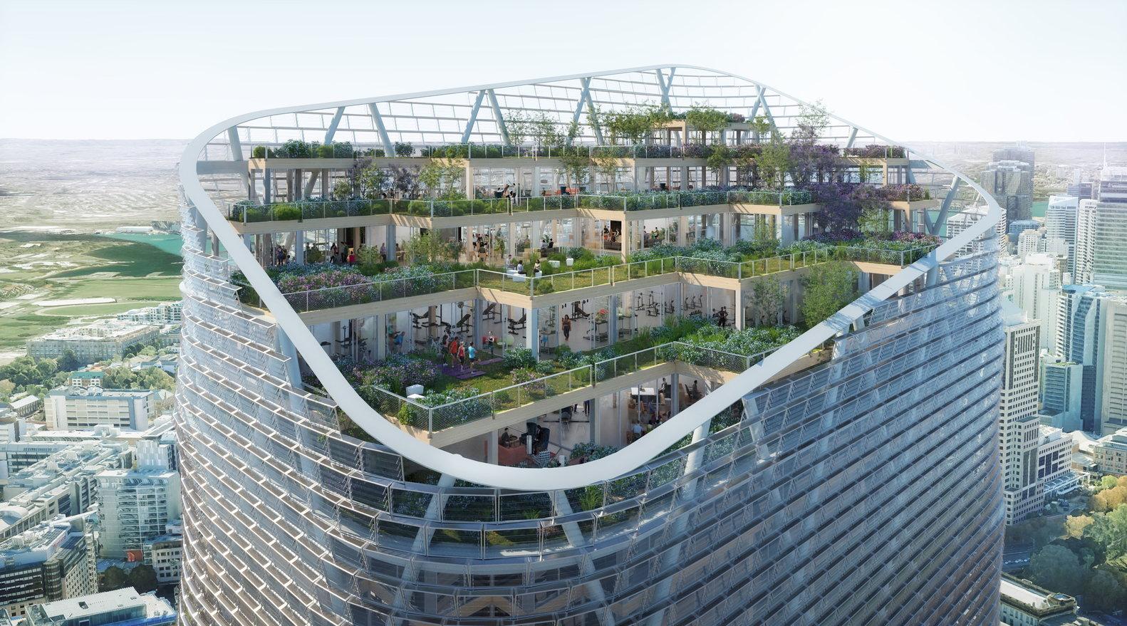 World?s Tallest Hybrid Timber Building Set for Construction in Australia