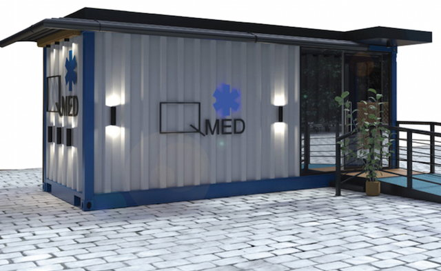Qubix is Turning Shipping Containers Into Portable Medical Clinics