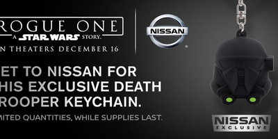 "Nissan  is  Giving  Away  Exclusive  ""Rogue  One:  A  Star  Wars  Story""  Keychains"
