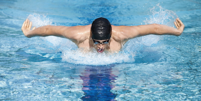 How To Get Toned In The Pool 5 Arm Exercises Fitness Toning