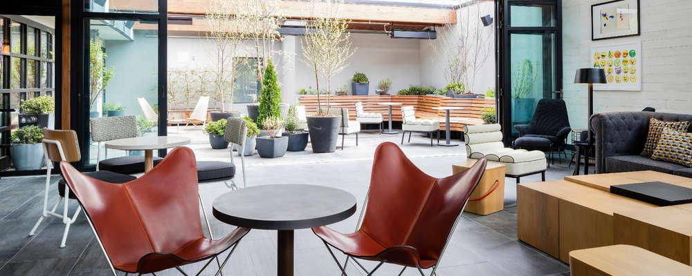 Lobby and Secret Garden