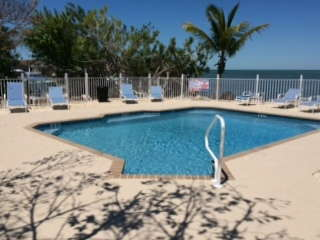 Enjoy our chilled and heated pool.