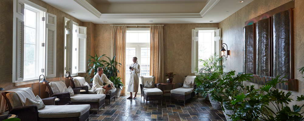 The Sanctuary Spa at Kiawah Island Golf Resort.