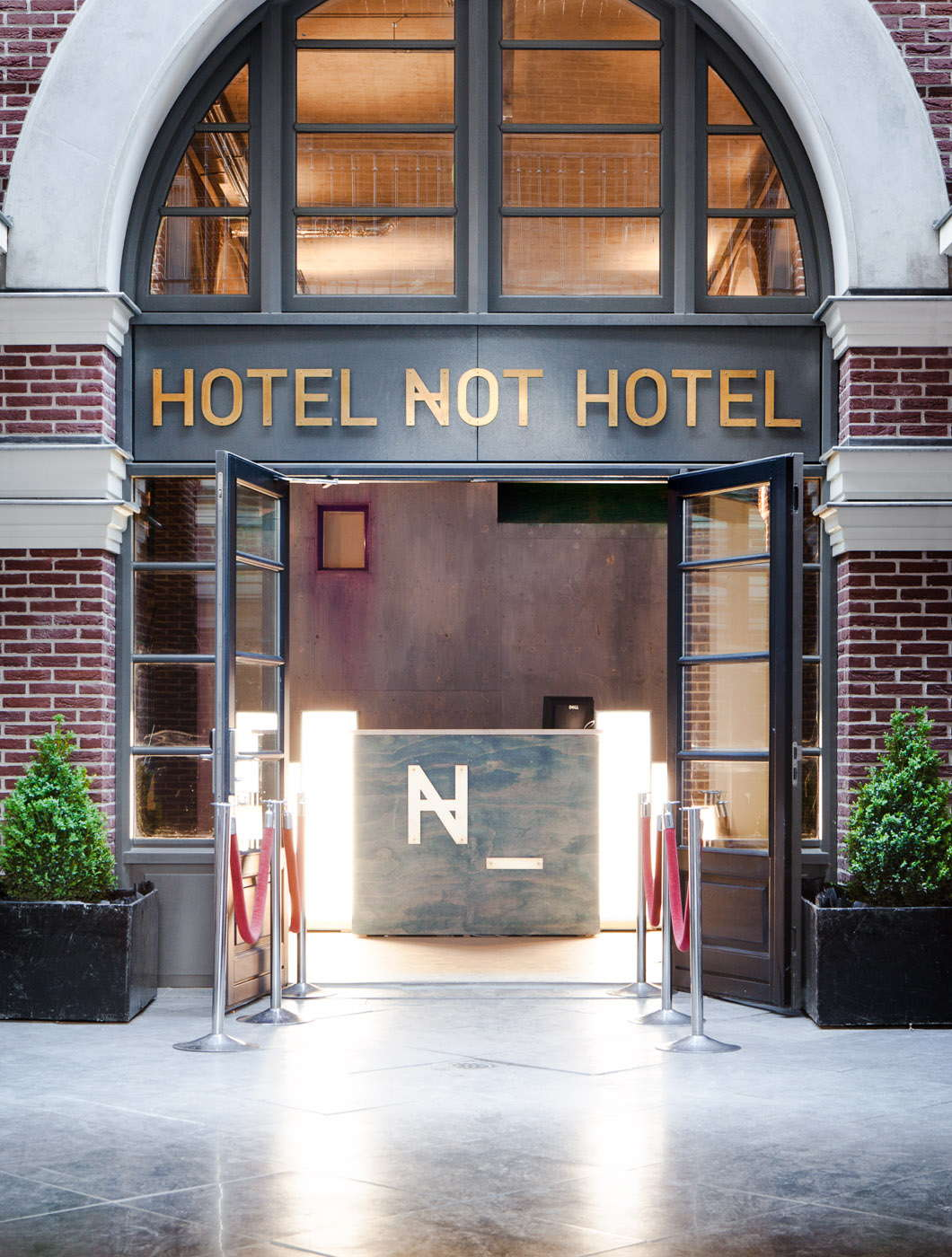 A hotel not