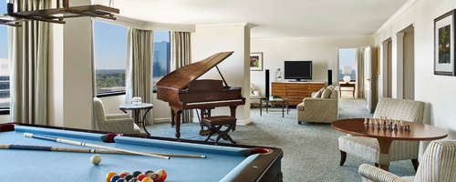 The Whitley Suite Living Area