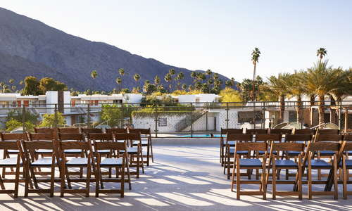 Clubhouse event space top deck