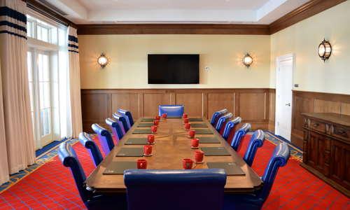 Meeting space at The Beach Club at Charleston Harbor Resort & Marina.