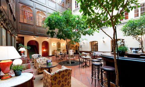 Lobby with bar area