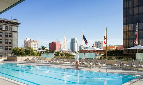 The Westgate Hotel - San Diego Rooftop heated-pool