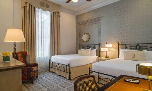 Standard Two Queen Beds Guestroom