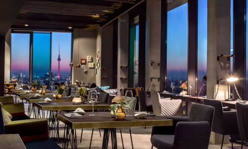 Vienna House Andel's Berlin Michelin star awarded Restaurant Skykitchen