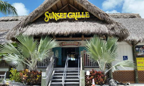 This restaurant is within walking distance from our sister location Knights Key Inn. It boost the best Family Fun Day in the Keys.