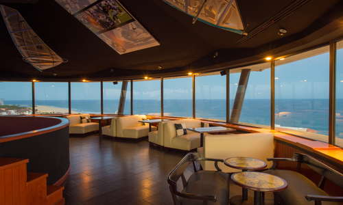 Sky Bar at Lighthouse with 360° panoramic view