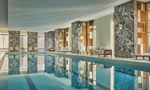 75 ft Indoor Lap Pool
