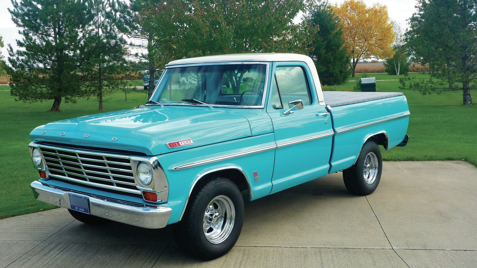 This 1967 F 100 Goes From Rusted Patina To Pretty Pastel Ford Trucks