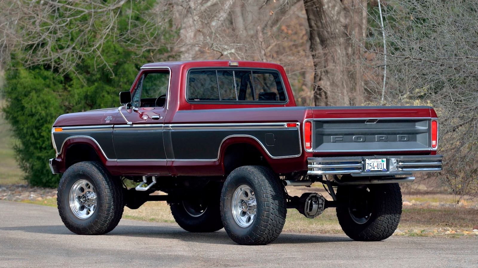 1978 Ford F 250 Is Picture Perfect With 6 Inch Lift Ford Trucks