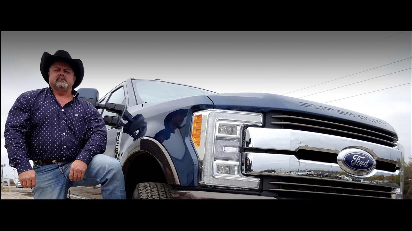 Larry Dunn uses King Ranch edition F-Series Truck